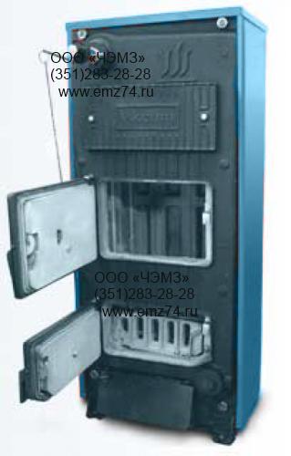 Котел твердотопливный малой мощности 21-80 кВт на сайте ЧЭМЗ